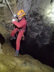 Titouan passe la déviation du puits de la rocade