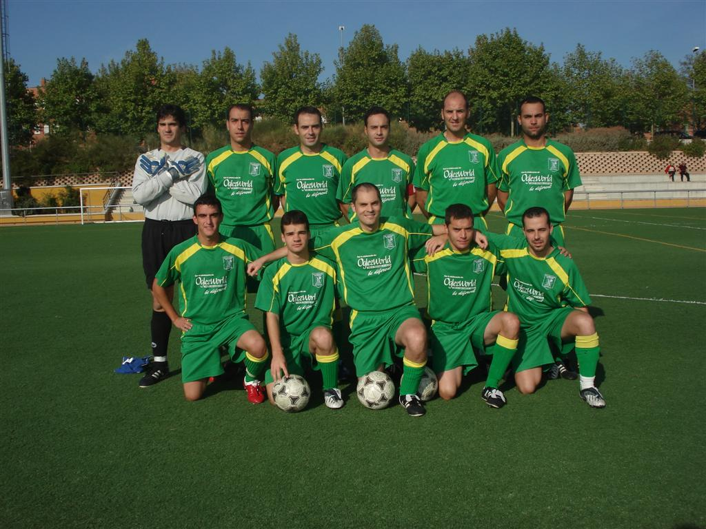 """Once inicial del C.D. San Nicasio """"A"""""""