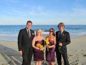 Andy (Mel's hubby), Mel, Katt, and Shane
