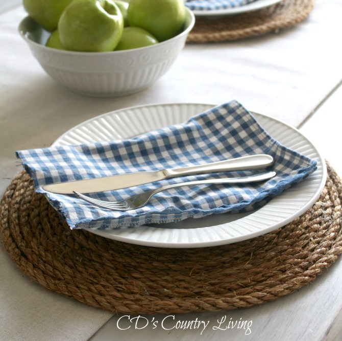 DIY Placemat-Rope