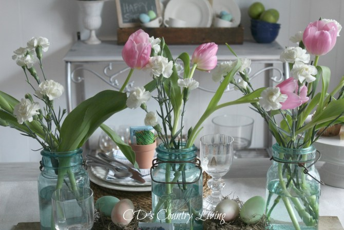 Rustic Spring Table 2016