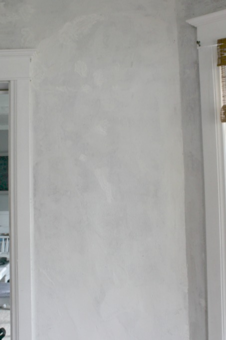After of repaired wall