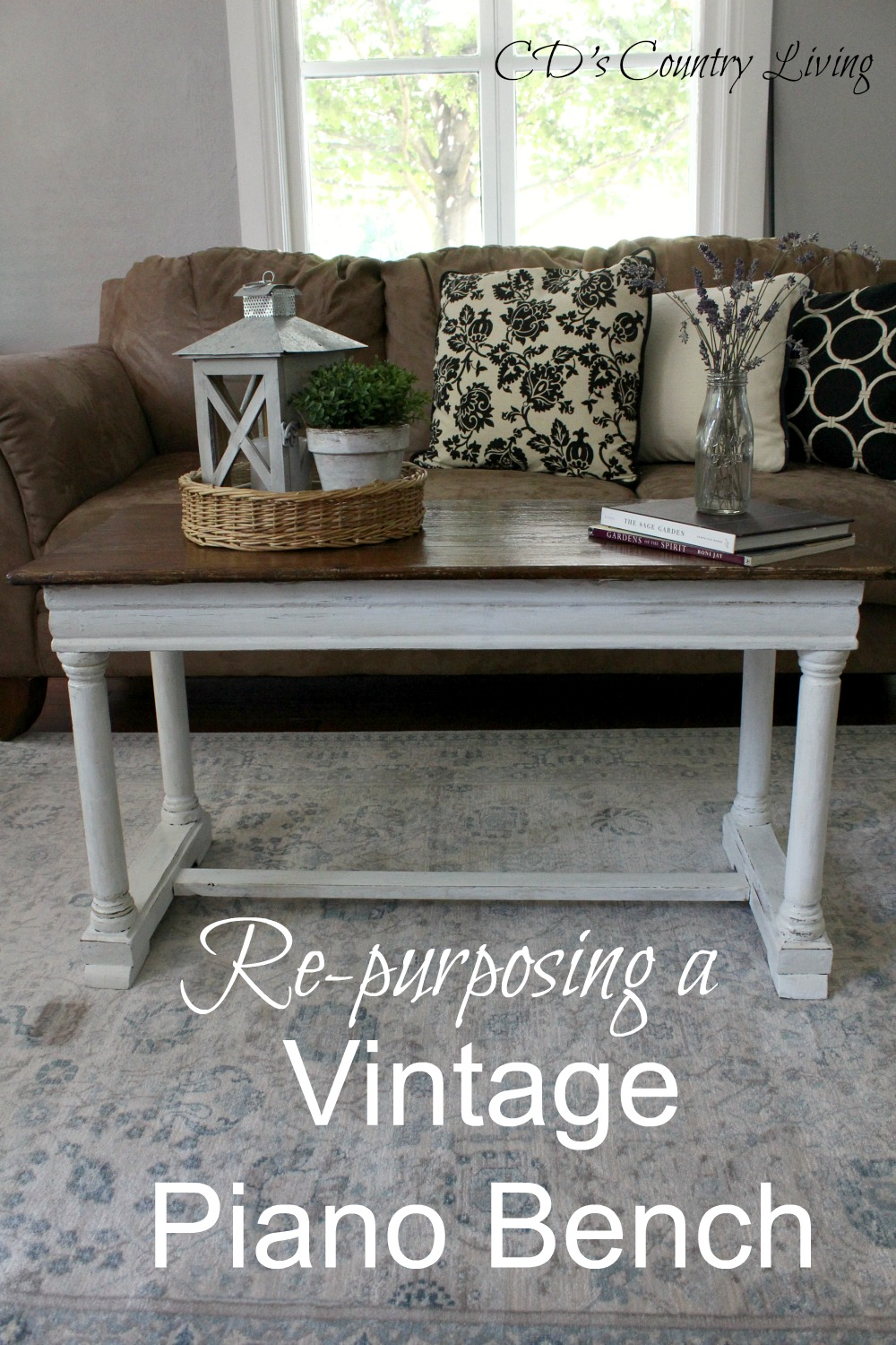 Re purposing a vintage piano bench i hope our newold coffee table inspires you to think twice before walking away from an old treasure you never know what youll find other years of geotapseo Image collections