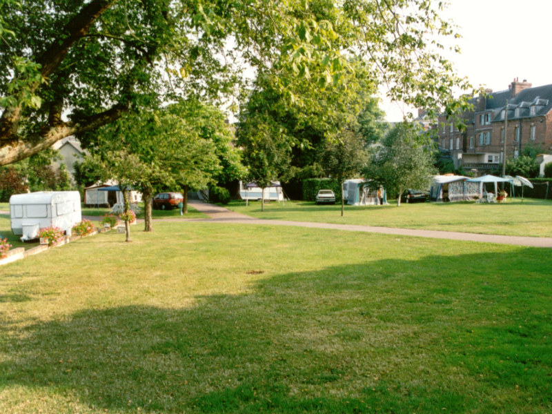 camping cabourg prl le vert pre