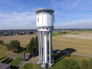 Wasserturm - Dettenheim (Baden)