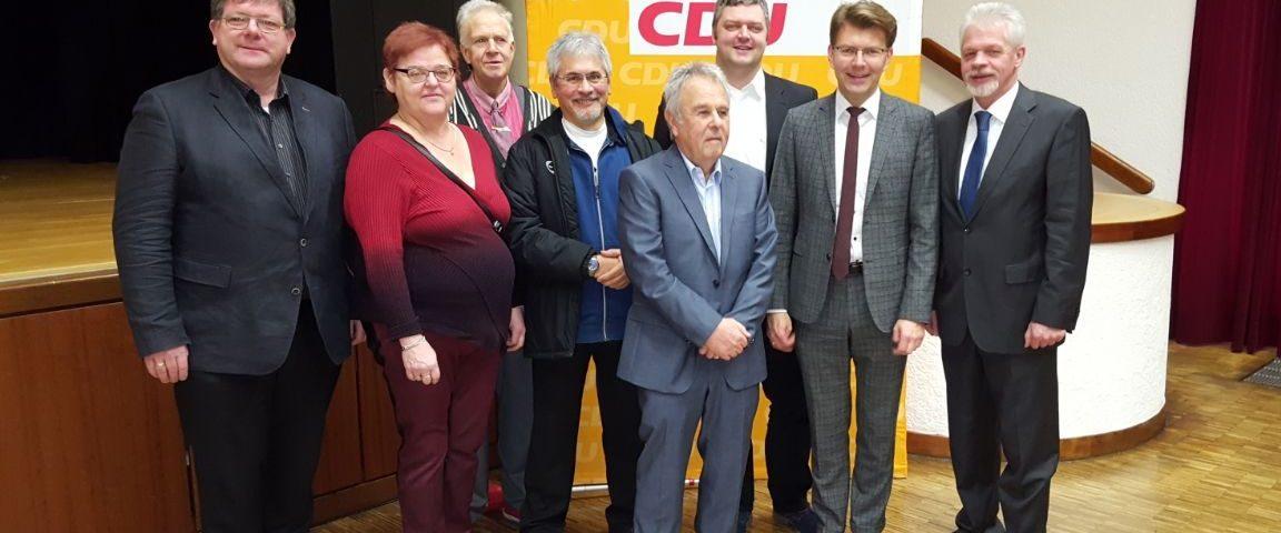 CDU Dettenheim bei CDU Stutensee