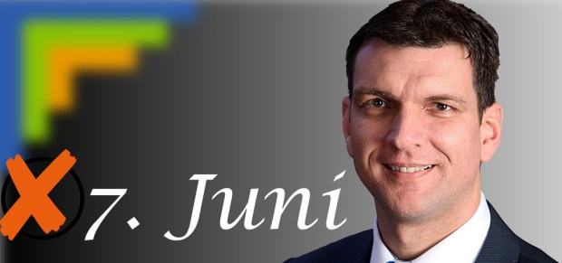 Kandidat zur Wahl des Landrates