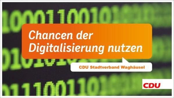 Breitbandausbau und Digitalisierung in Waghäusel