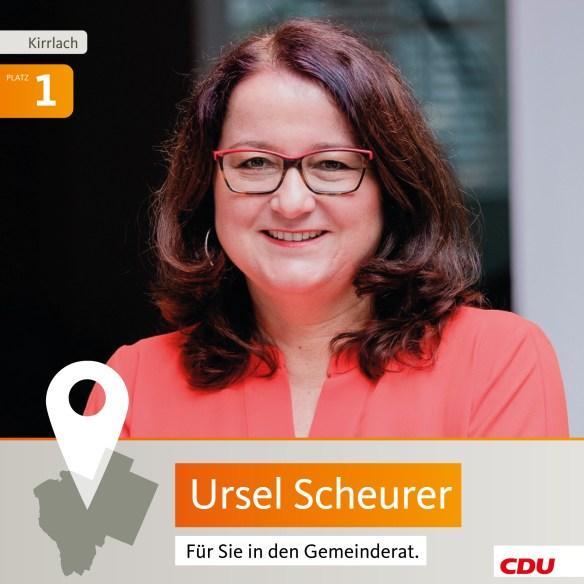 Ursel Scheurer