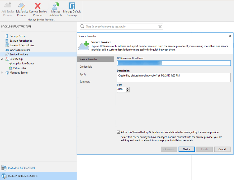 How To: Veeam Cloud Connect Replication and Partial Failover