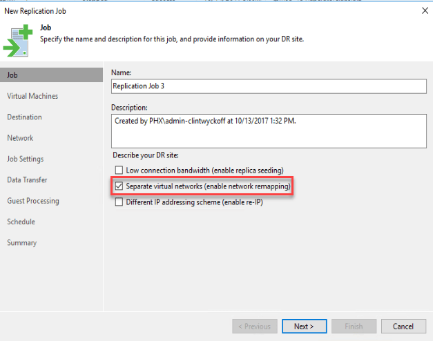 How To: Veeam Cloud Connect Replication and Partial Failover to