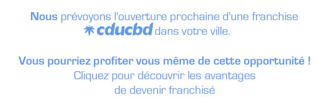 boutique CDUCBD en franchise