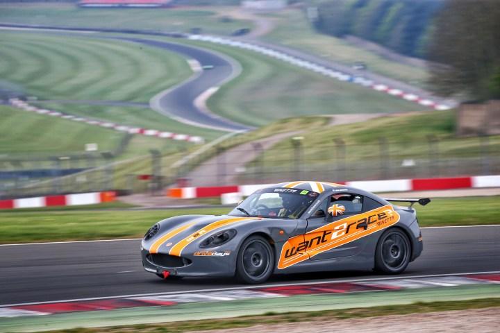 Business Partnership with CDW Motorsport Ginetta G40 at Donington Park