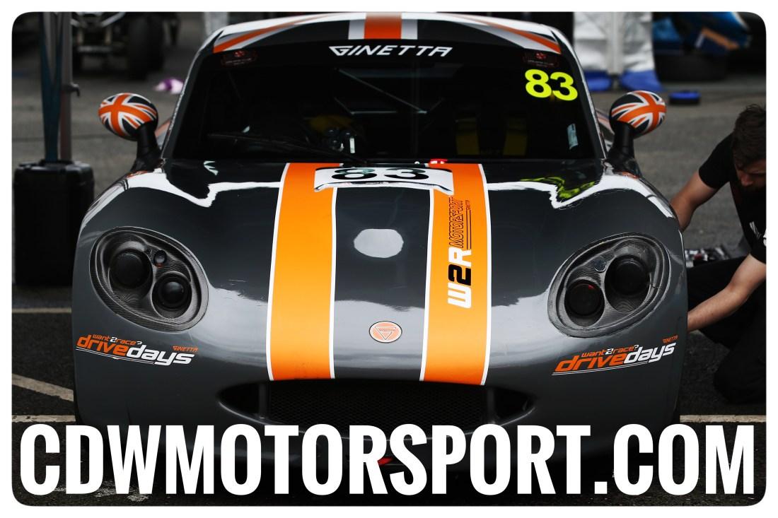 CdwMotorsport.com logo Ginetta G40 CDW Motorsport