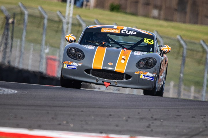 CDW Motorsport Ginetta G40 for Motorsport Sponsorship at Donington Park