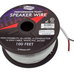 four conductor 16 gauge speaker wire
