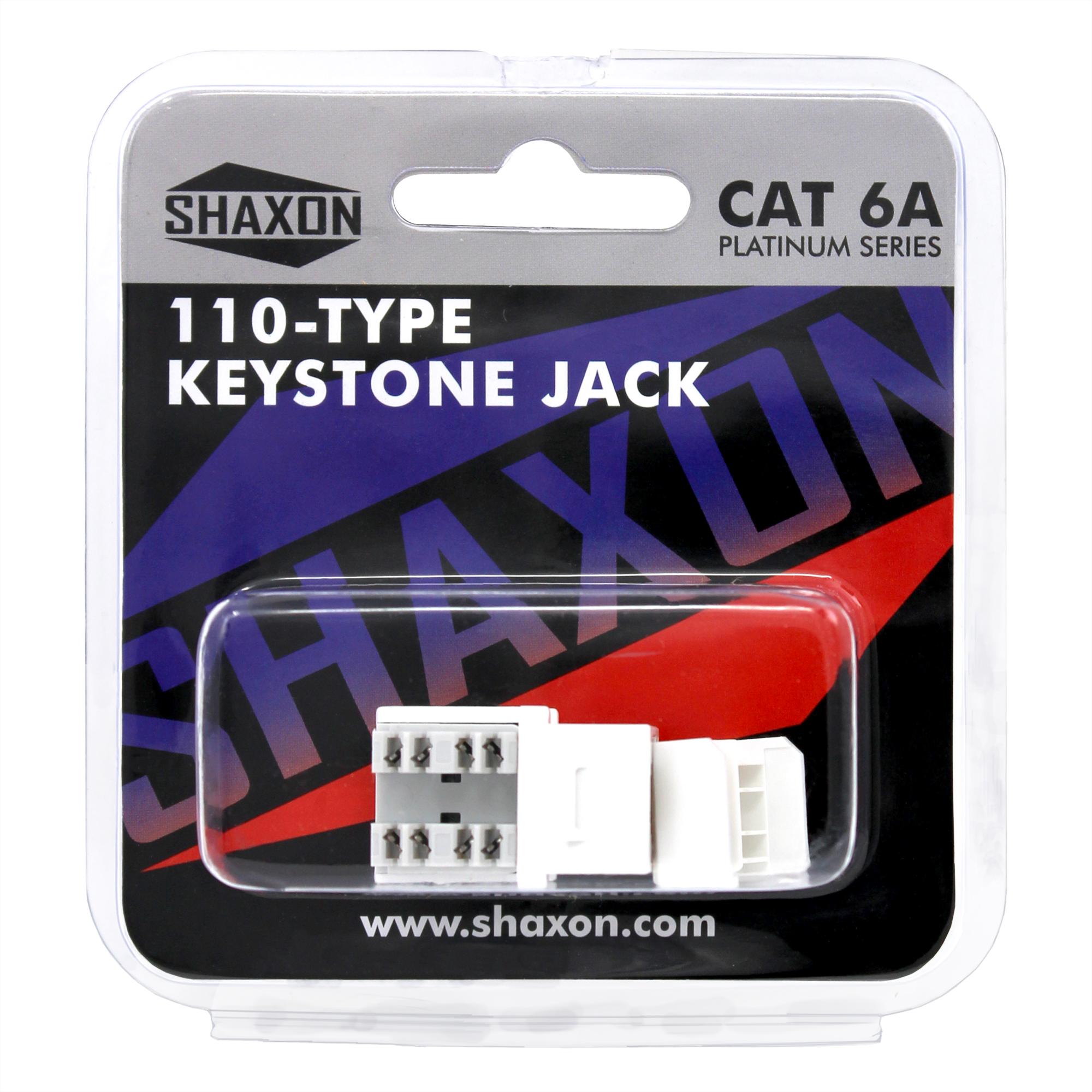 Rj45 Phone Jack Wiring 568a Spec Electrical Diagrams Diagram For Wall Socket Cat6a Keystone B White Shaxon Consumer Electronics 568b