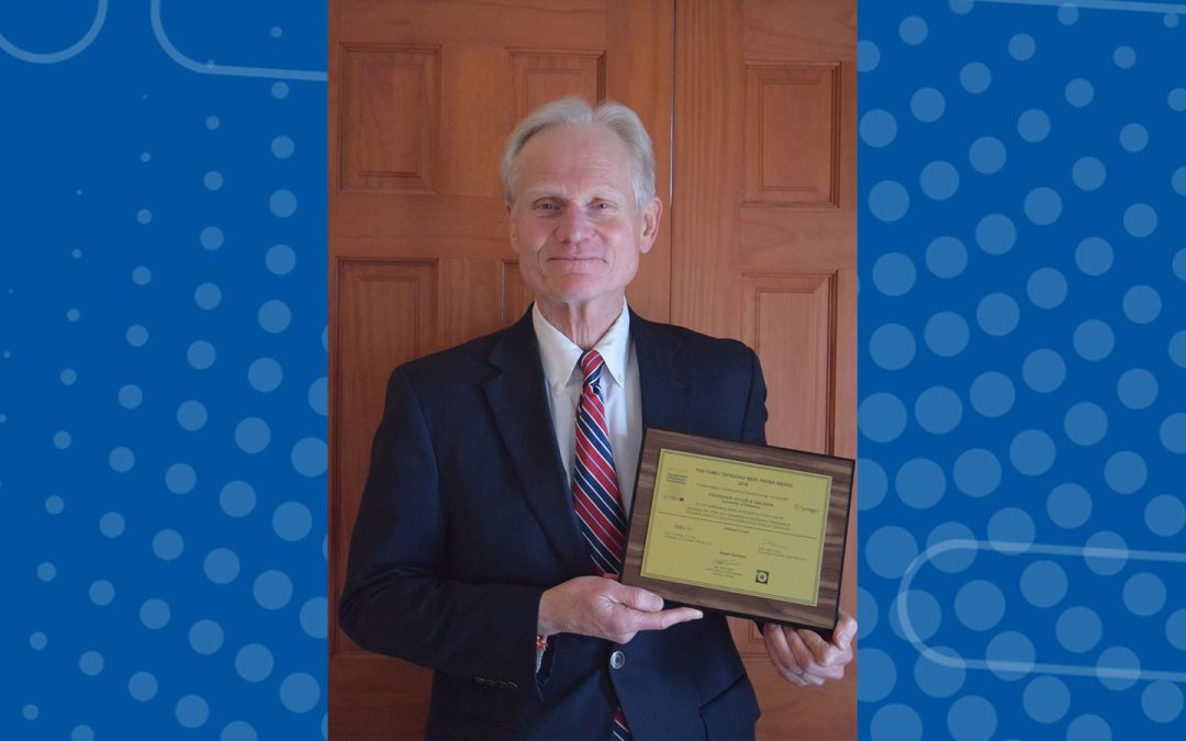 Kaliakin recognized for contributions to soil modeling