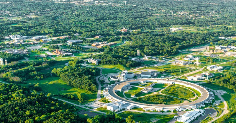 The Argonne National Laboratory near Chicago is one of the sophisticated facilities at which UD graduate students will be working after receiving prestigious U.S. Department of Energy research grants.