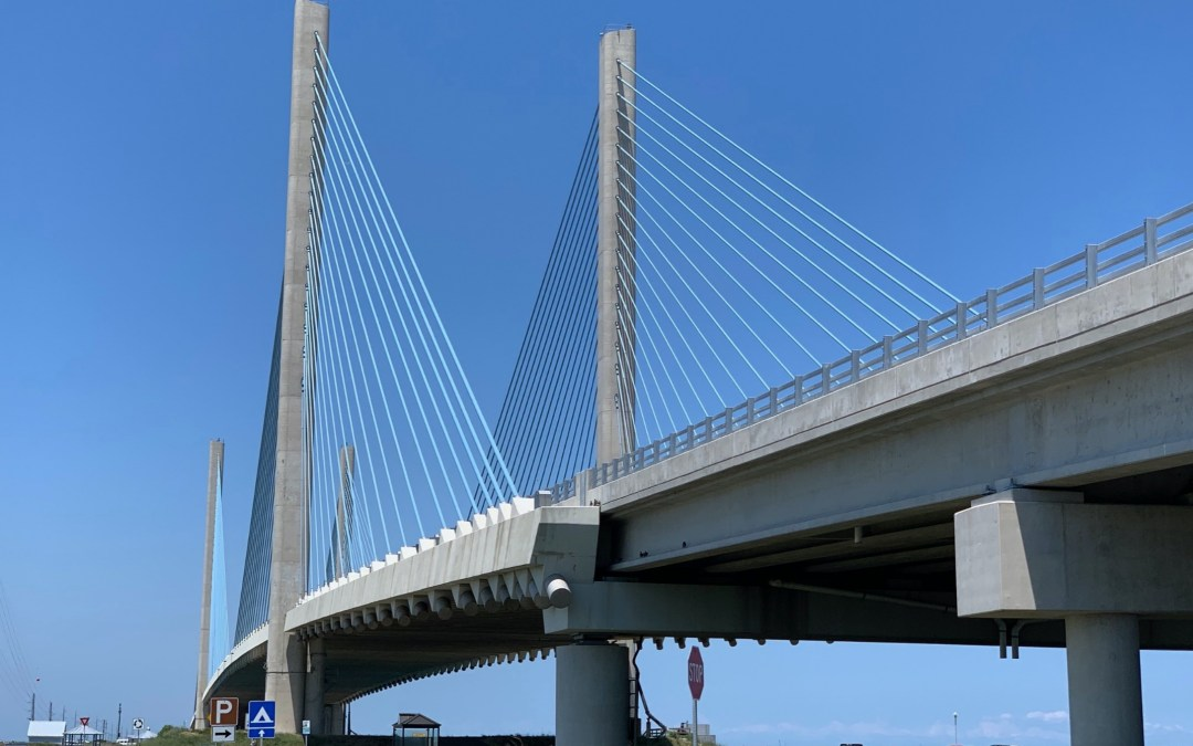 The Indian River Inlet Bridge (photo courtesy of M. Chajes)