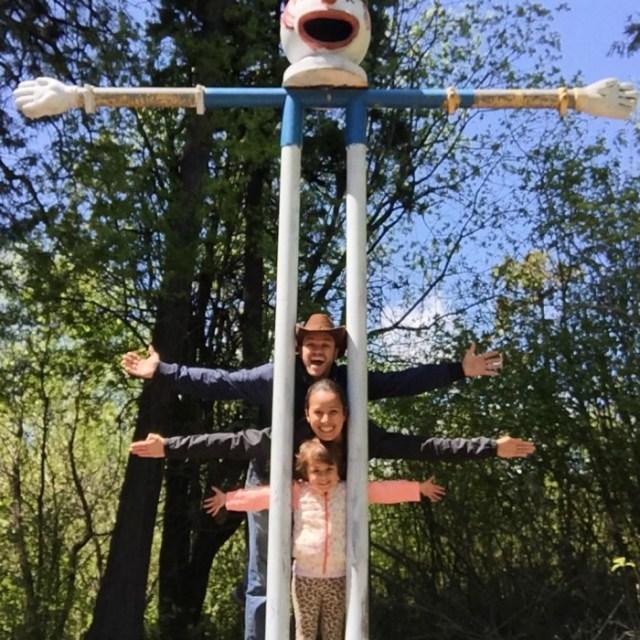 Josh Bolingers family in cedar park