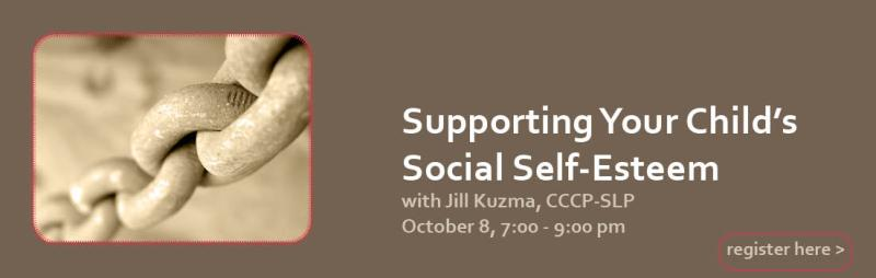 Supporting Your Child's Social Self-Esteem