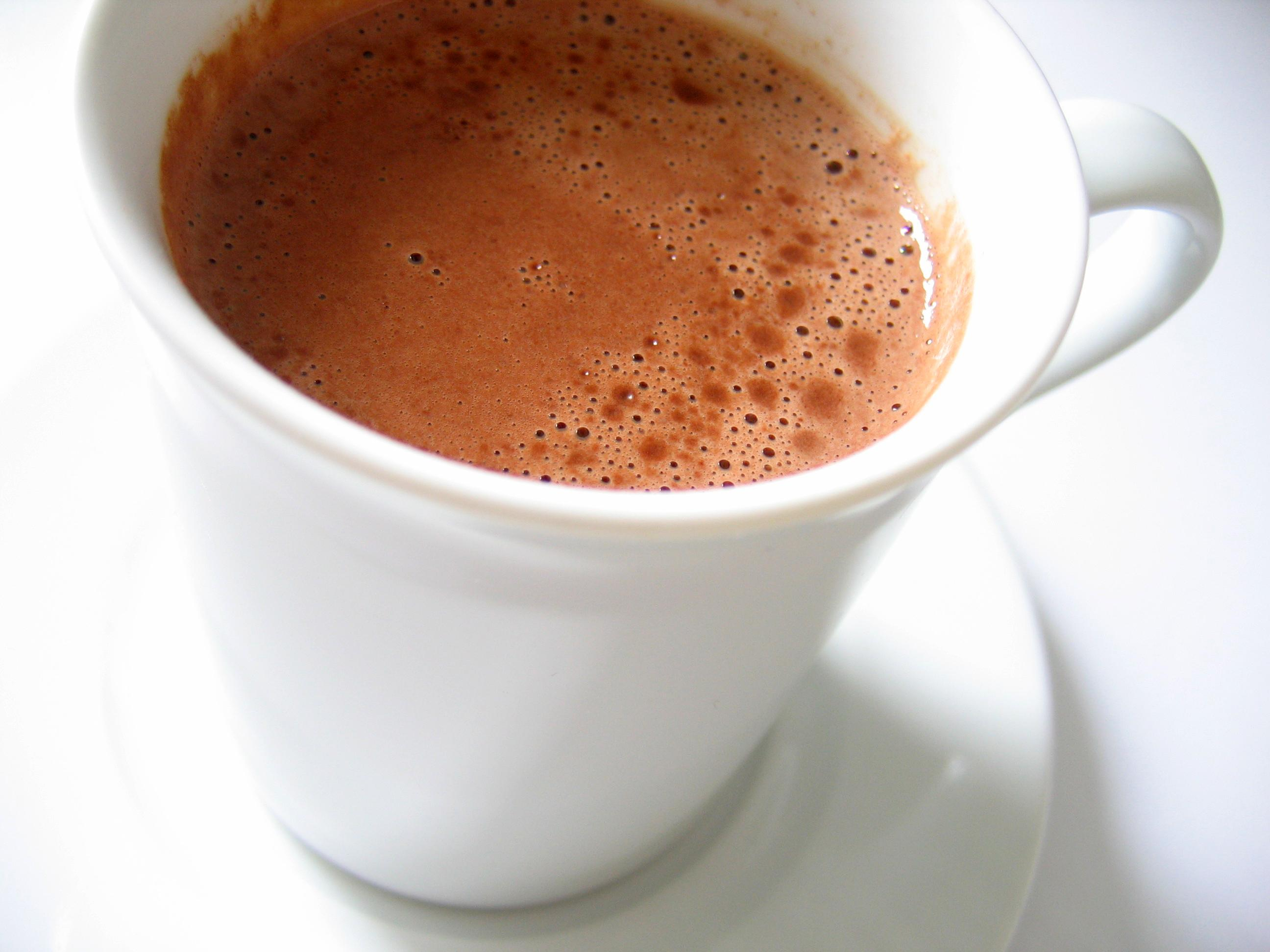 Hot cocoa cup