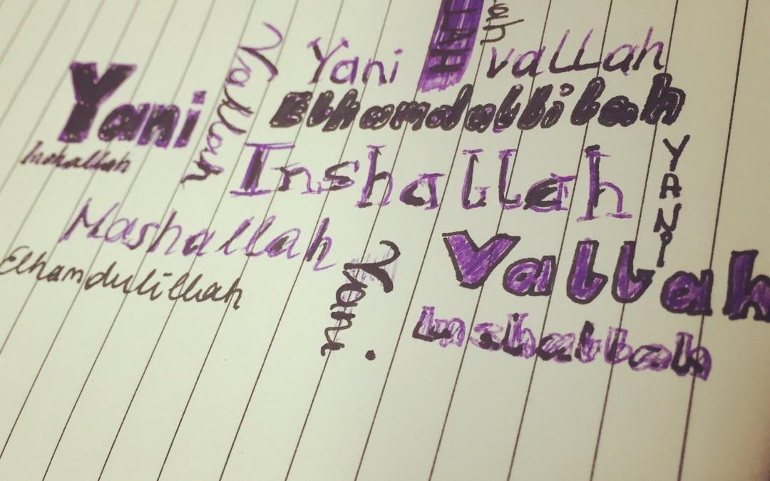 "Yani, inshallah und wallahi sind das neue ""Oida"""