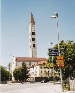 Franziskaner-Kirche in Mostar
