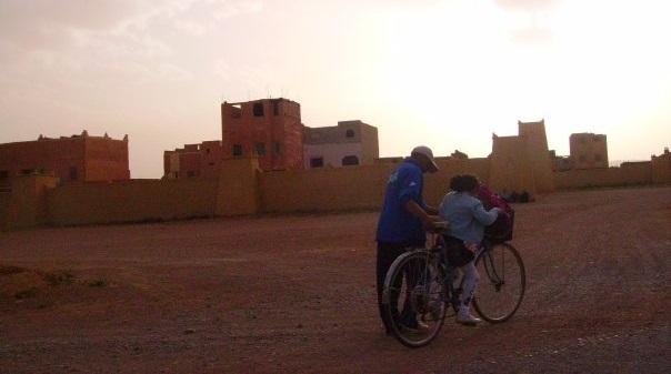 Das Mädchen Wadjda aus Saudi Arabien zu Beginn des neuen Jahres 2017