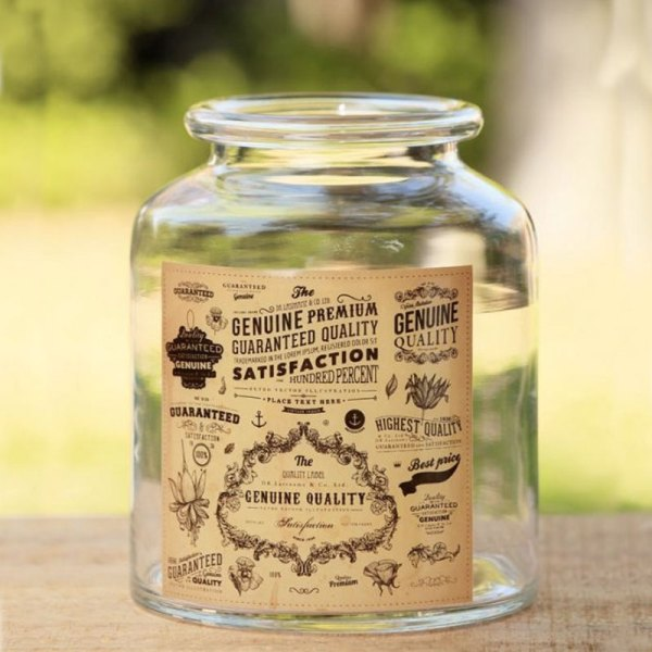 arriendo frascos etiquetas