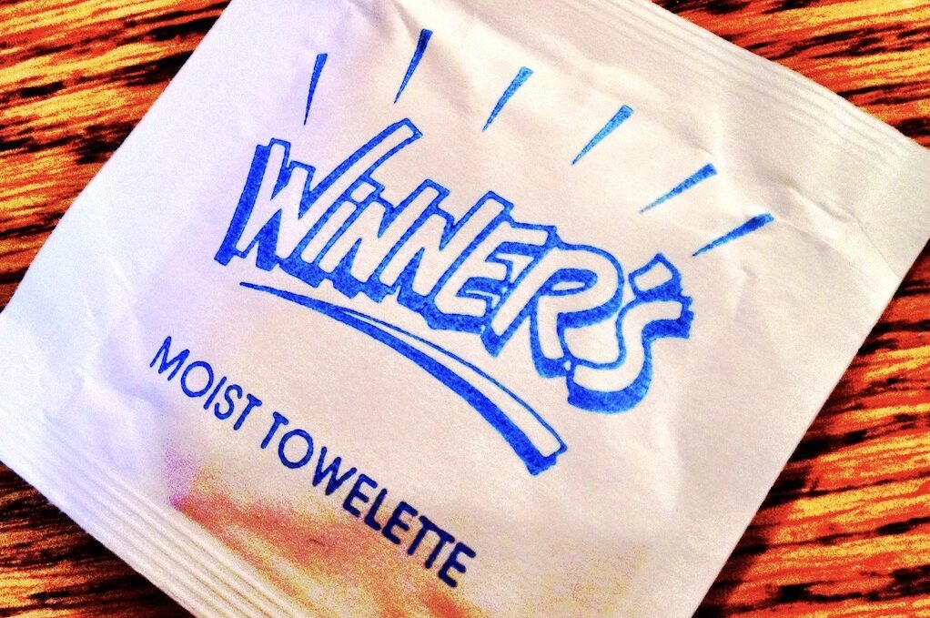 photo of moist towelette packet