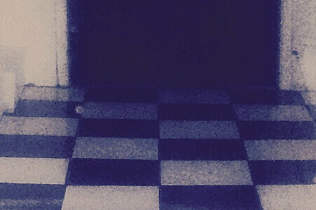 photo of checkered floor