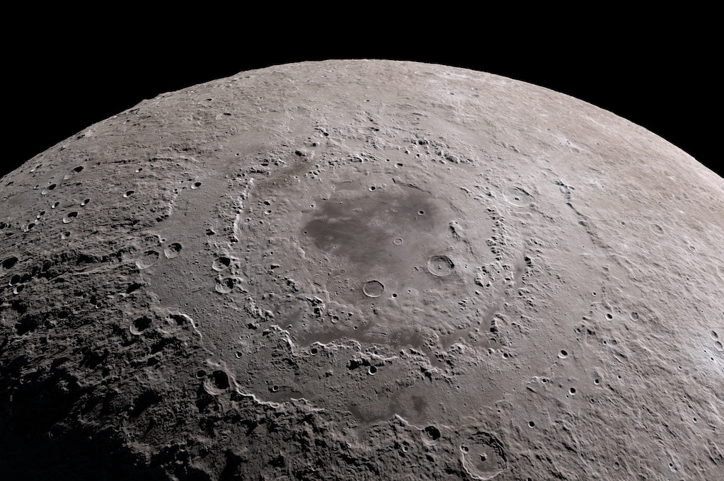 photo of surface of the moon