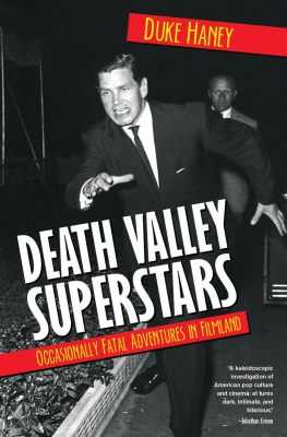 book cover image for Death Valley Superstars