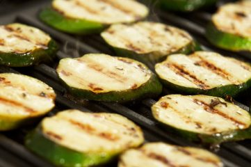 photo of grilled zucchini