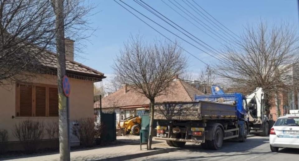 Șeful Aquaserv a folosit angajații și utilajele firmei la casa familiei