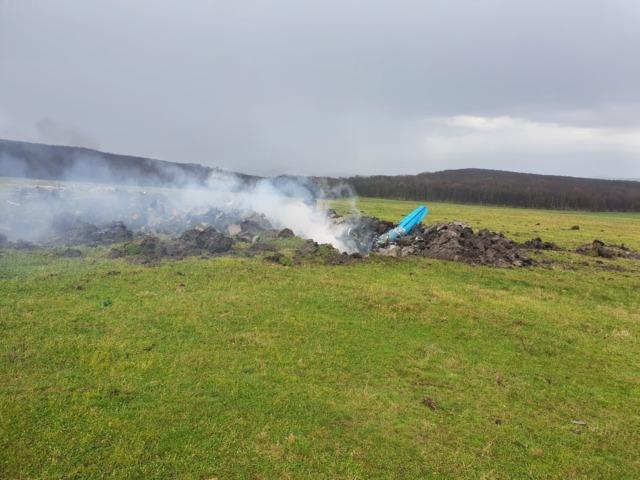 Un avion militar s-a prăbușit lângă Reghin
