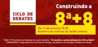 Convite: debate sobre os desafios e potencialidades do SUS na Bahia