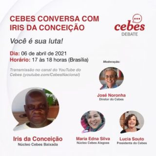 Cebes conversa com Iris da Conceição – Você é sua luta!