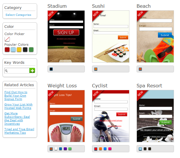 Opt In Form Templates New Collection Of Free Html5 And Css3