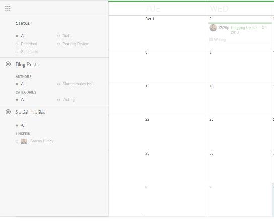 CoSchedule filtering