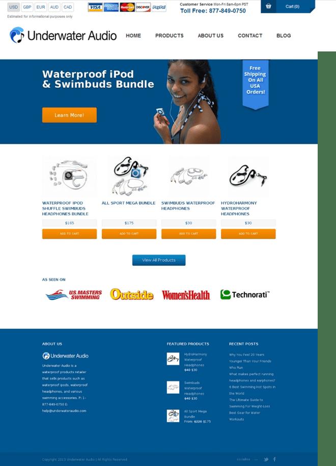 Variation Save The Website Test