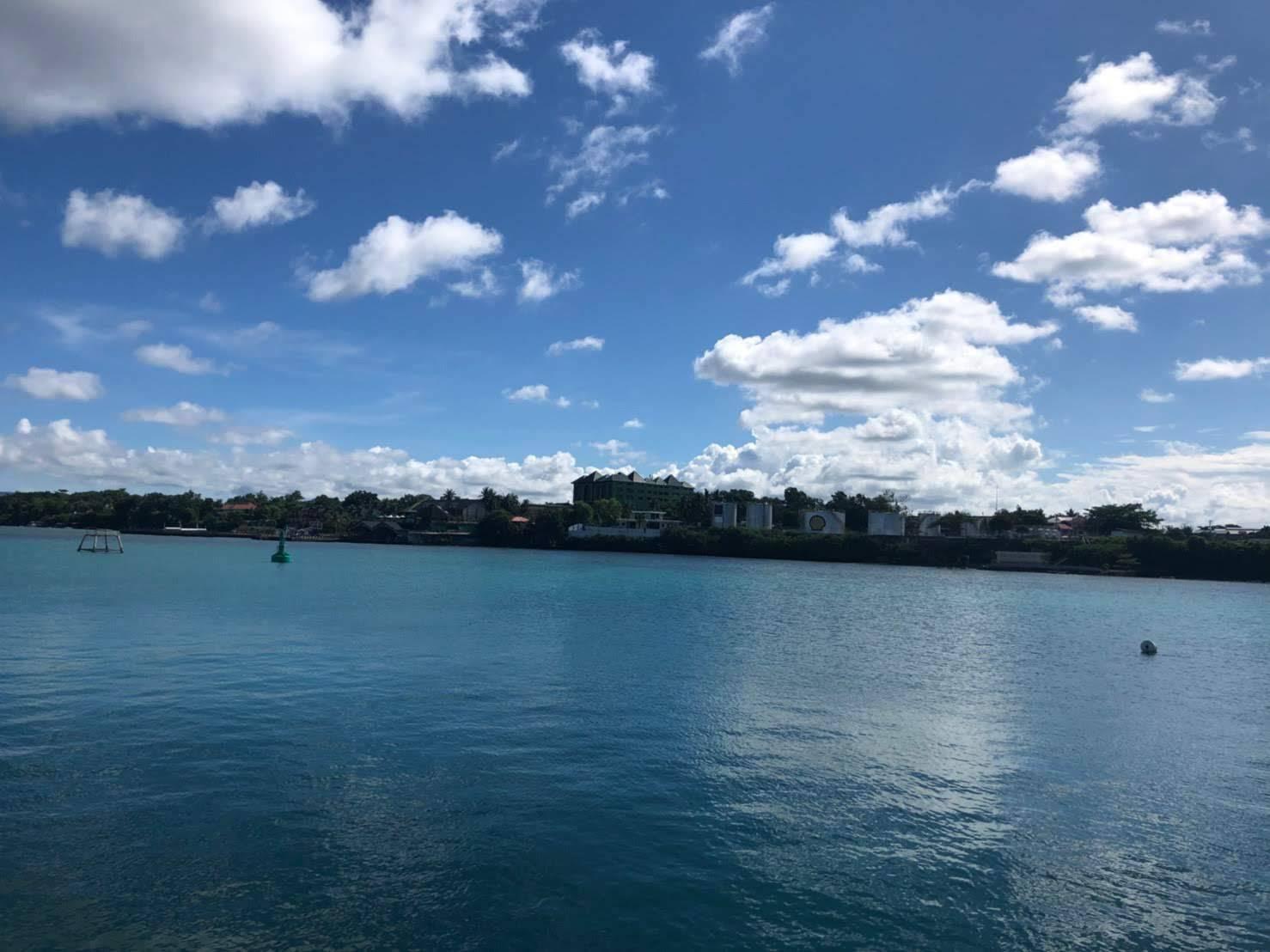 タグビララン港に到着
