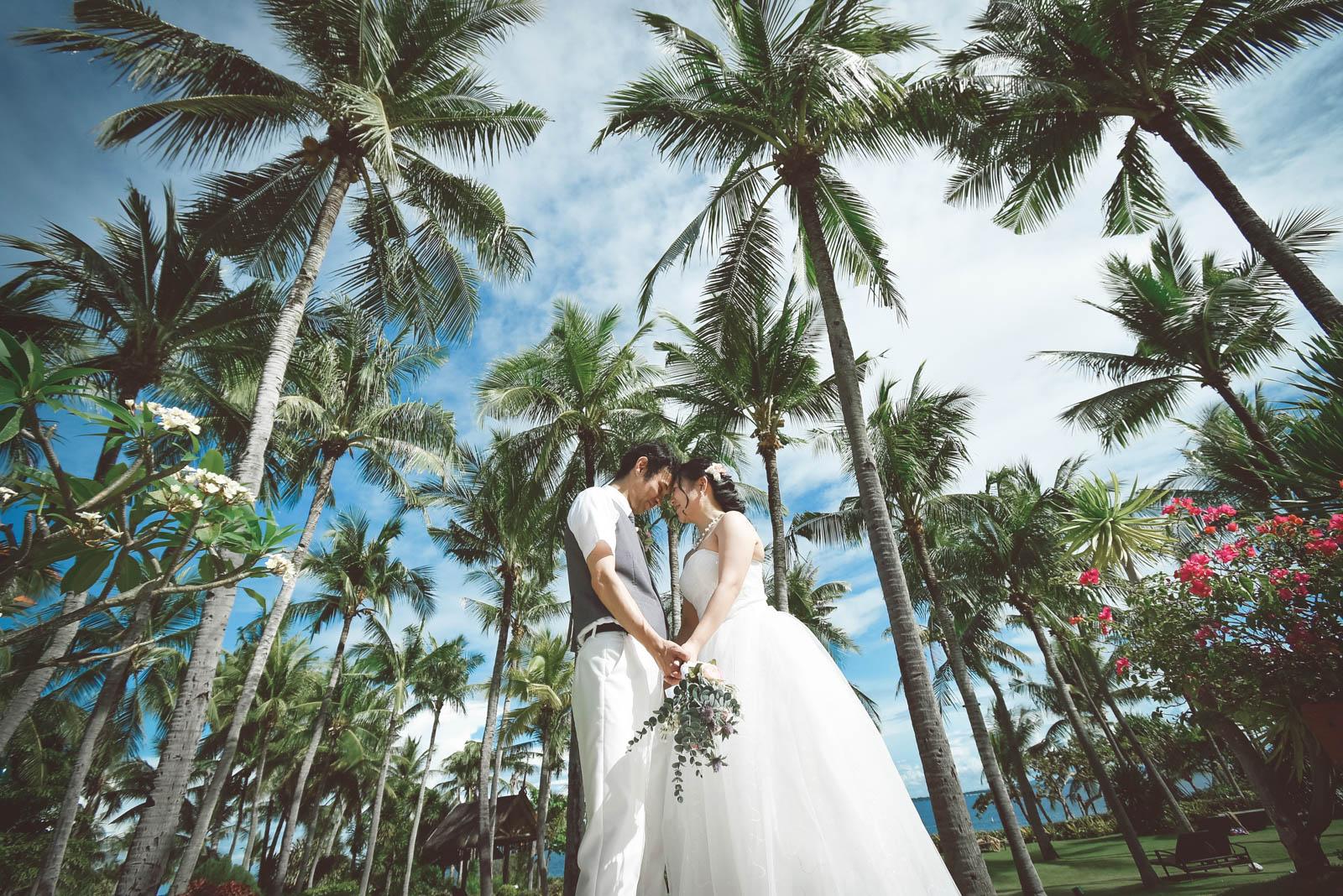 シャングリラ マクタンで結婚写真