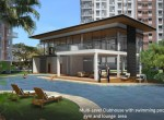 Clubhouse with swimming pool and gym