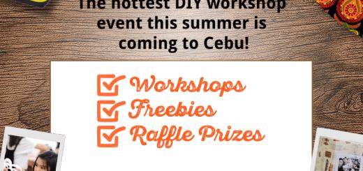 Fujifilm Instax and Crafts DIY Workshop Event in Cebu | Cebu Finest