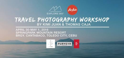 Explore 360 Travel Photography Workshop in Cebu | Cebu Finest
