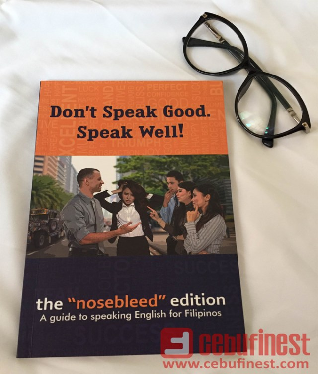 "Book Review: Don't Speak Good. Speak Well! (The ""Nosebleed"" Edition) 