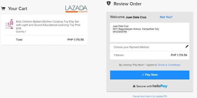 7-Eleven now accepts payments for Lazada orders using helloPay | Cebu Finest
